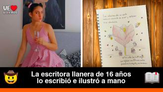 Yeidi Mariana Reinoso, la joven villavicense que hizo un libro infantil