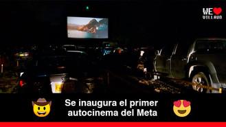 El Autocinema Les Lumiére abre sus puertas a los Villavicenses