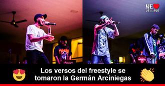 Batalla de Freestyle rap en Villavicencio
