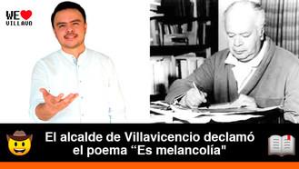 Felipe Harman rinde homenaje al natalicio de Eduardo Carranza