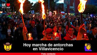 Continúa la movilización pacífica en Villavicencio