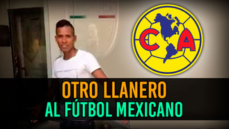 Jhon Jairo Pérez viste la camiseta del histórico América de Mexico