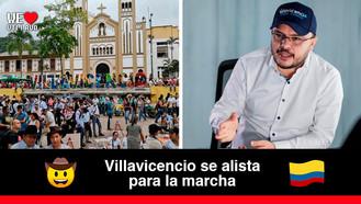 Alcalde Felipe Harman respalda a los villavicenses en contra de la reforma tributaria