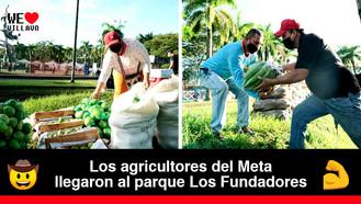 Campesinos del Ariari están en Villavicencio comercializando sus cosechas