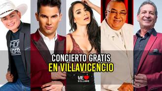 Gran concierto de música popular en Expomalocas 2019