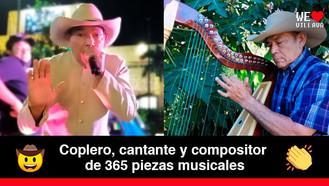 Juan Francisco Macualo López, el artista que ha entregado 54 años de su vida a la música llanera
