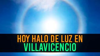 Villavicencio fue iluminada por uno de los fenómenos naturales más extraordinarios