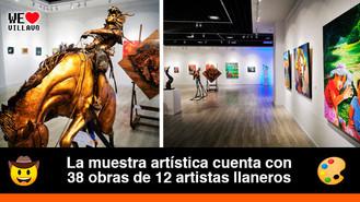 """Abierta al público la exhibición """"181 Pinceladas por Villavicencio"""""""