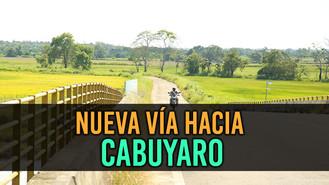 Nueva pavimentación en vía Cabuyaro