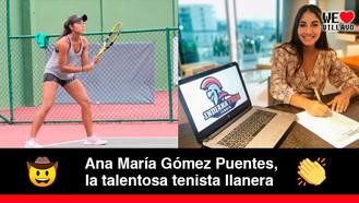 Llanera obtuvo beca deportiva para estudiar marketing en Estados Unidos