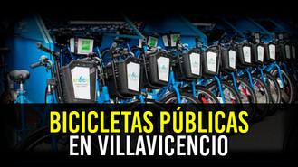 Implementarán política de bicicletas públicas en Villavicencio