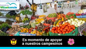 Vive el Mercado Campesino en la Galería 7 de Agosto