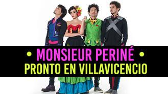 Monsieur Periné en concierto durante el Festival Llanero de Villavicencio