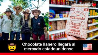 Nunchuah, la empresa llanera de chocolate artesanal y saludable que exportará a EEUU