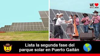 El Meta se posiciona como potencia en energía renovable
