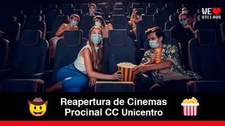 Alistan protocolos de bioseguridad para la reapertura del cine