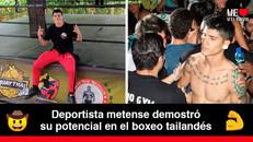 Michell Pride Hurtado, el llanero que representó al Meta en Campeonato Nacional de Muaythai