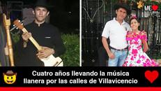 Pedro Ramón Salazar, el artista que recorre Villavicencio interpretando música llanera