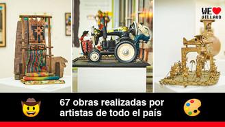 Llegó a Villavicencio una exposición que rinde homenaje los artistas populares de Colombia