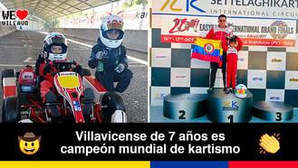 Ian Pablo Correa se destacó en el Mundial EasyKart International Grand Finals en Italia