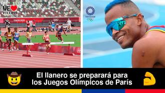 El llanero Carlos Sanmartín cumplió su sueño de ser deportista olímpico