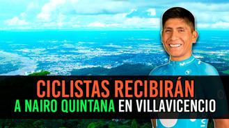 Ciclo-paseo para recibir a Nairo Quintana