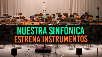 Entregan instrumentos nuevos a Banda Sinfónica Santa Cecilia