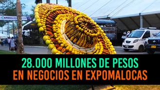 ExpoMalocas cerró con negocios por más de 28.000 millones de pesos
