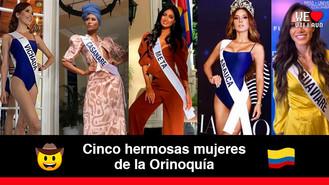 Conoce las mujeres que representarán a los llanos orientales en Miss Universe Colombia 2020