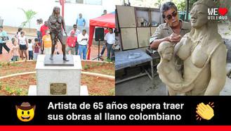 Carlos Arturo Betancourt Castro, un artista que se ha inspirado en el río Orinoco
