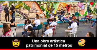 Conoce el nuevo mural que embellece el centro de Villavicencio