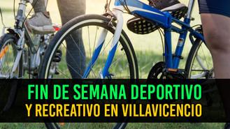 Actividades deportivas y recreativas en Villavicencio