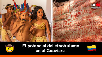 Con danza tradicional niños y niñas indígenas del Guaviare salvaguardan su cultura