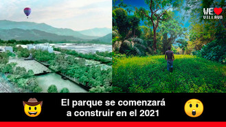 Ya es una realidad la construcción del Parque Metropolitano Alma Viva