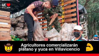 Campesinos del Ariari afectados por la ola invernal llegan a Villavicencio
