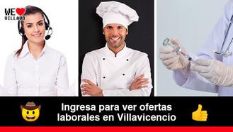 Más de 50 vacantes laborales en Villavicencio