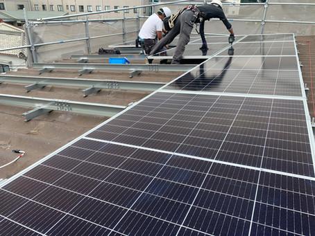 セキスイ瓦U太陽電池取付金具製作⑪