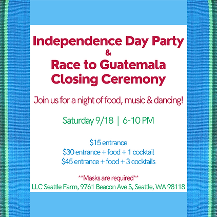 Join Guatemala Village Health to honor the culture & independence of Guatemala! Expect tra