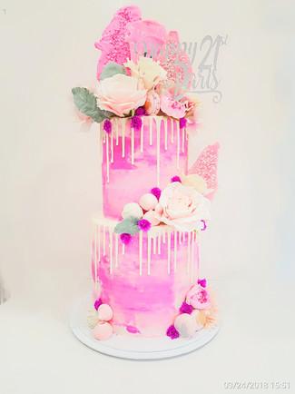 Pinks 2 tier