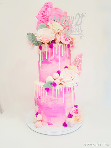 Pinks 2 tier