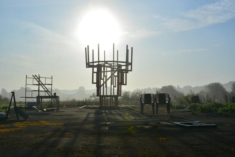 Wildewrness Tower under construction