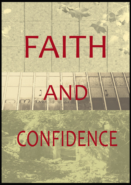 Faith and Confidence, poster