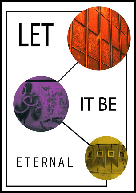 let it be eternal, poster