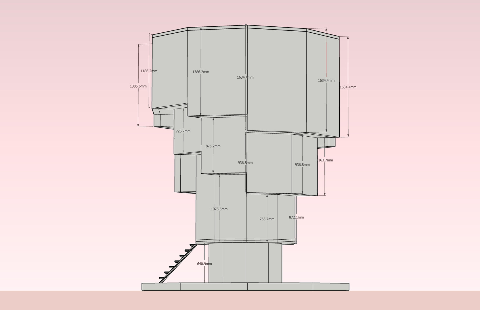 Wilderness Tower CAD