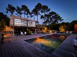 La Villa Mogador by night