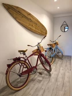 Se balader à vélo le long de l'océan