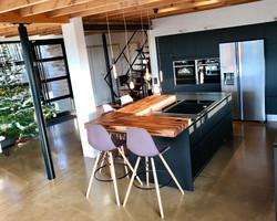 Cuisine en open space