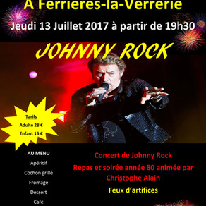 Soirée Johnny Rock