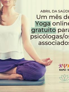 Yoga gratuita para associados