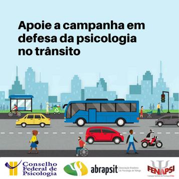 Ajude a garantir avaliação psicológica e mais segurança no trânsito